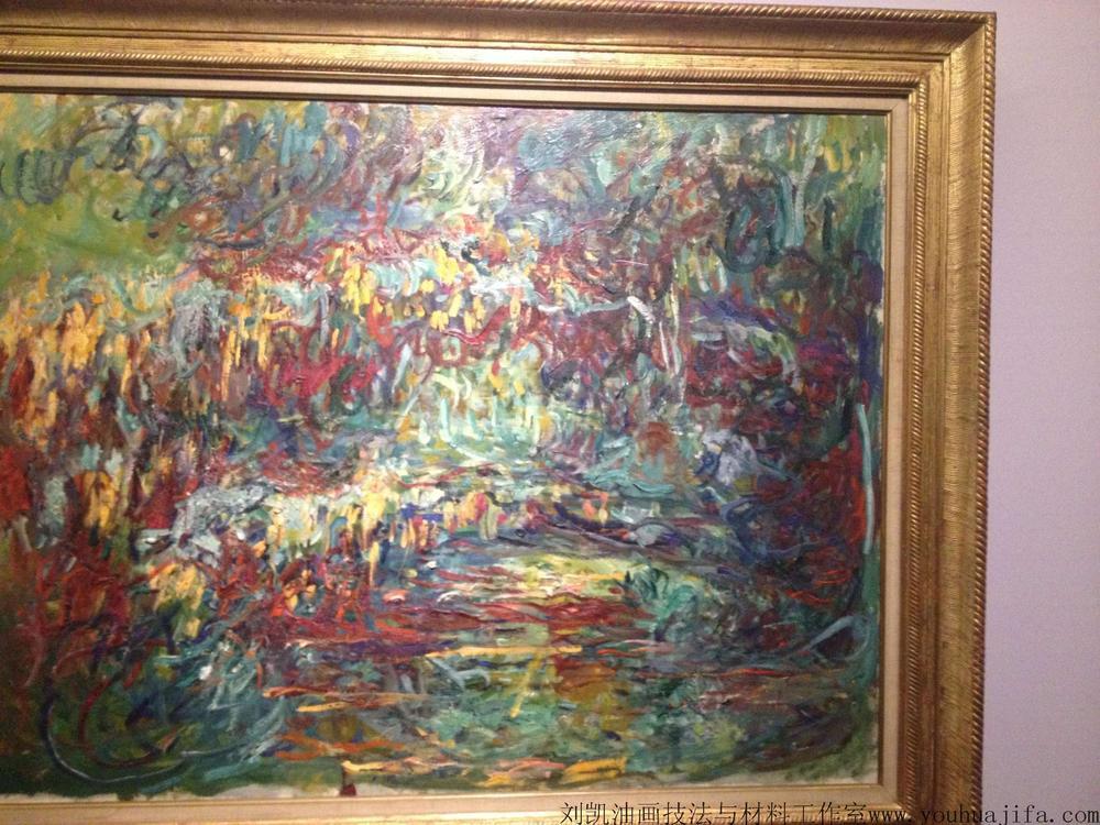 毕加索油画风景临摹